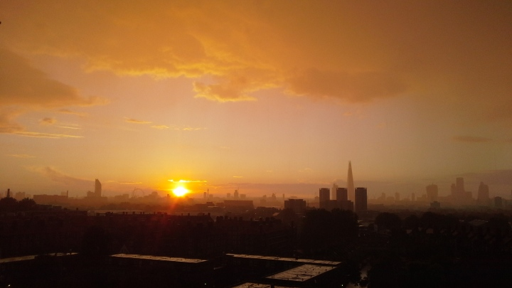 I did eventually get bored of sticking my camera out of the window for every sunset