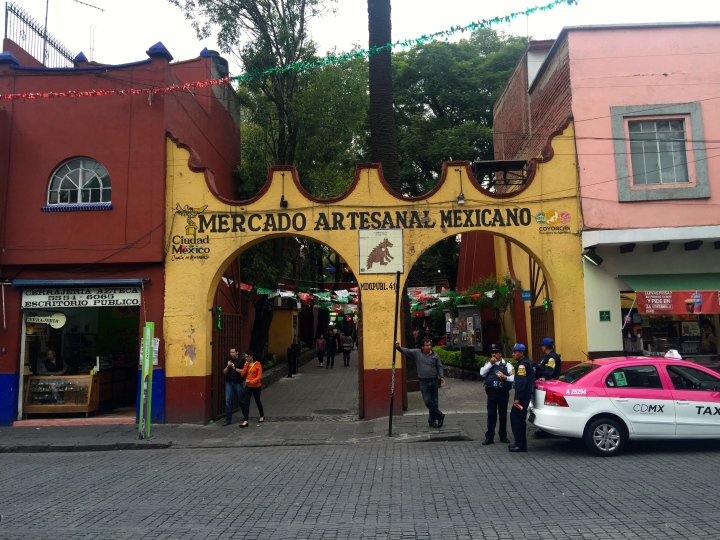 Coyoacan: great little market