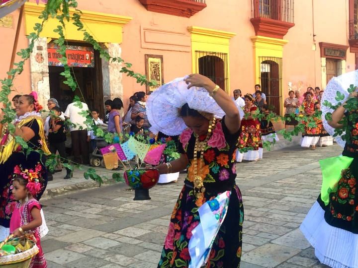 Not sure what was going on here, but yet another thing that reminded me of Spain: the countless processions.