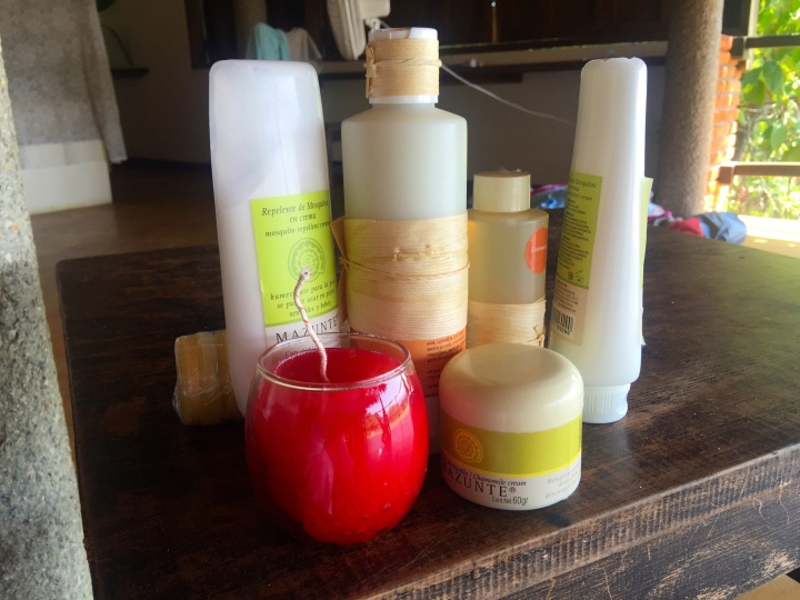 I'm a bit of a sucker for shampoos and body oils, so I bought a few bits.