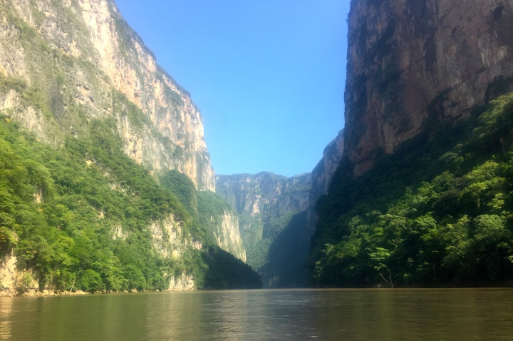 This view is featured on the Chiapas coat-of-arms
