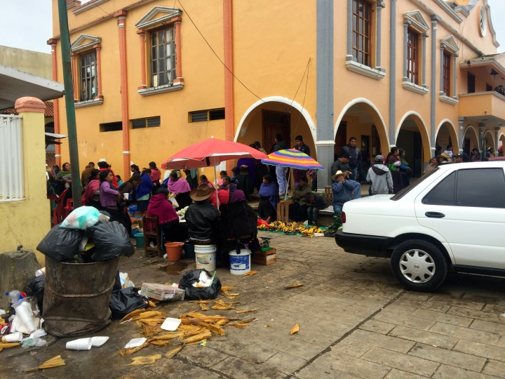 Market day in Chamula.