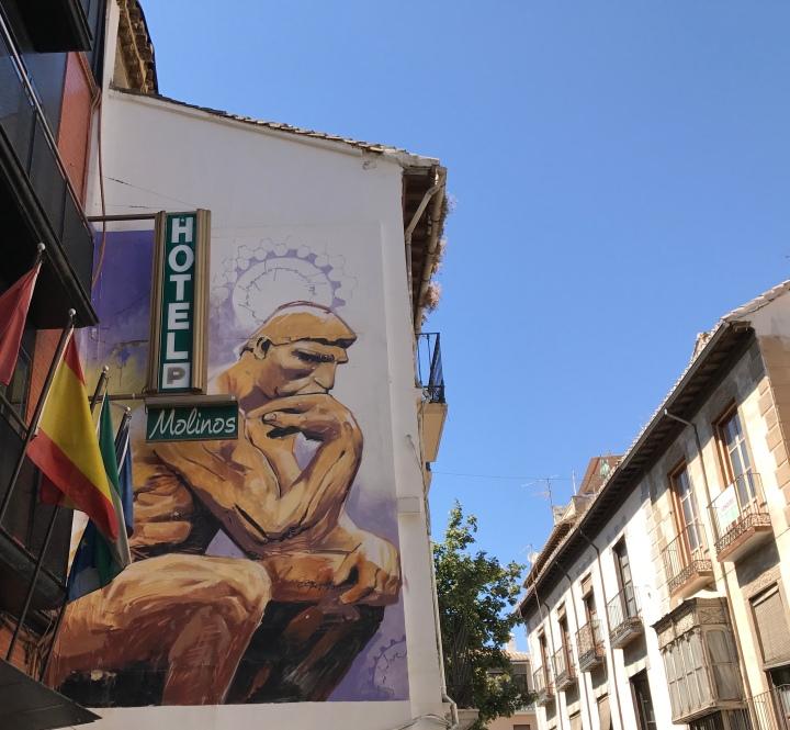 El Nino streetart