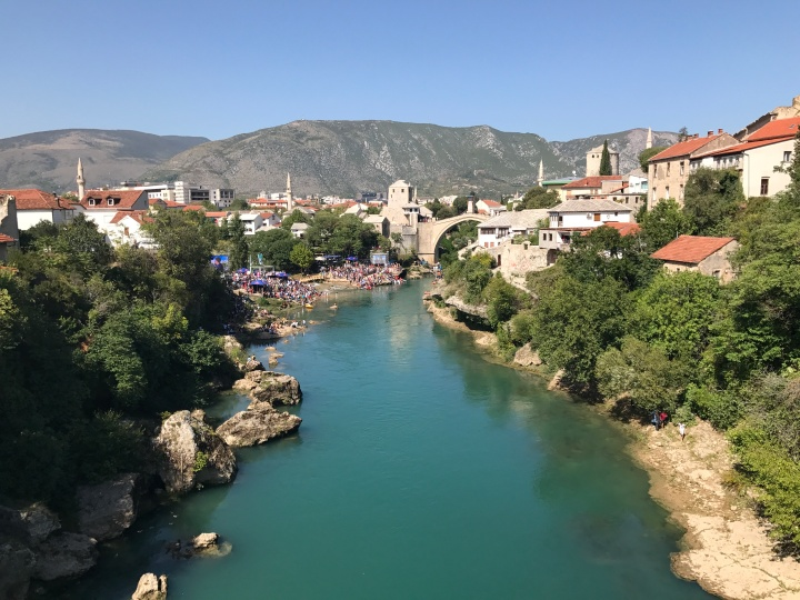 Mostar, Bosnia and Herzegovina, Balkans, Stari Most
