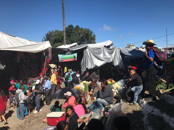 Chichicatenango market Guatemala
